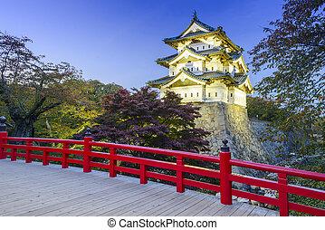 Hirosaki Castle in Japan - Hirosaki, Aomori, Japan at...