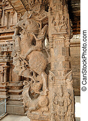 Indian Architecture - An ancient temple in Southern india...