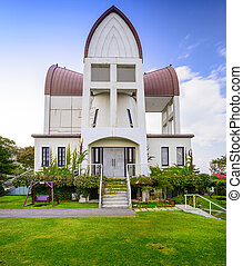 Historic Church in Hakodate, Japan - Hakodate, Hokkaido,...