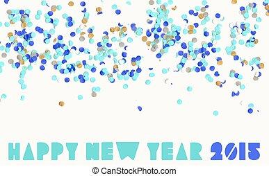 Feliz, Novo, ano, Partido, 2015,