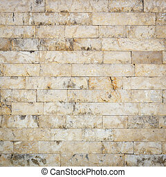 Natural travertine stone wall texture for background