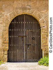 Old moroccan door from Rabat