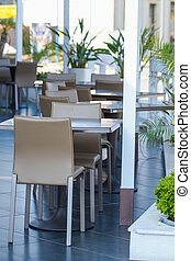 cafe table outside - cafe outdoor restaurant table and chair...