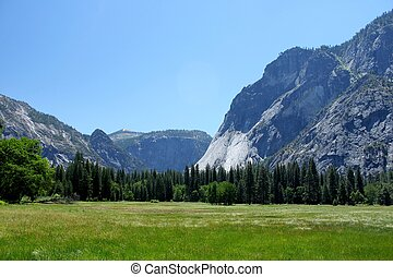Yosemite Valley - Valley within the Yosemite National Park...