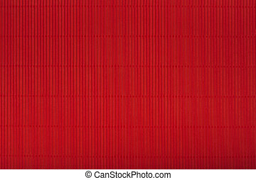 Red corrugated cardboard carton, texture background, colorful se