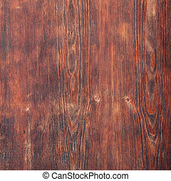 Old reddish brown wooden board texture