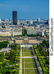 Paris landscape - champ de mars - The Champ de Mars is one...