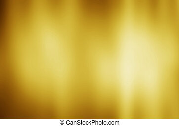 gold metal texture background with horizontal beams of light...