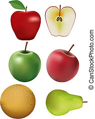 Fruit - Fresh fruit illustration