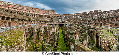 Colosseum, Rome - The Colosseum or Coliseum, also known as...