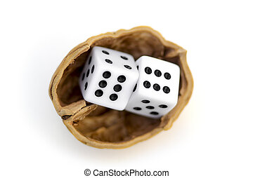 LUCK IS UNCERTAINTY 2 - Two dices on a nutshell in a journey...