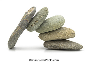 TOGETHER WE CAN - Several stones put together to create a...