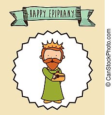 epiphany design , vector illustration