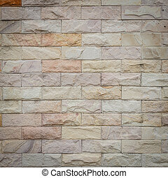 Sandstone wall texture for background