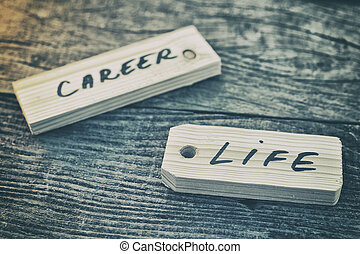 Label Life or career