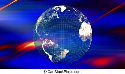 Earth energy flow VJ Loop