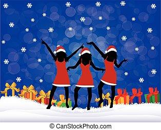 Christmas Girls