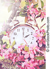 Spring Daylight Savings Time - Set your clocks back in...
