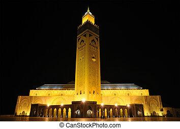 Mosque Hassan II in Casablanca, Morocco Africa
