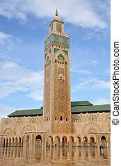 Hassan II Mosque in Casablanca Morocco, Africa