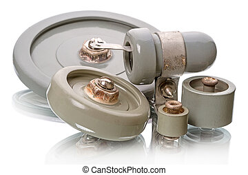 Capacitors for high-power transmitter - Ceramics capacitor...