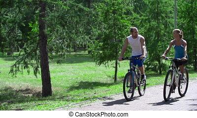multa, día, para, ciclismo,