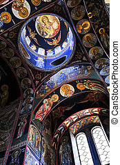 Church interior - Interior of orthodox christian St George...