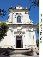 Church of San Francesco da Paolo in Nardo, Puglia, Italy