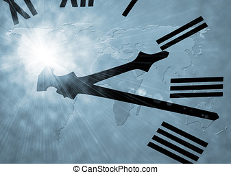 世界, 時間