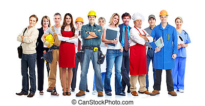 Business people team - Group of business people team...