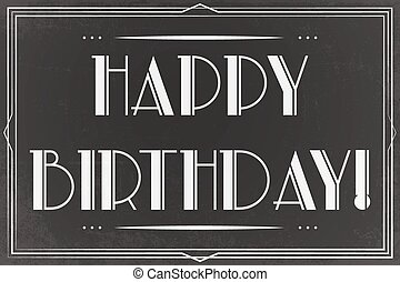 happy birthday card - happy birthday greeting card,...