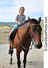 caballo, primero, tiempo