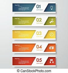 Design clean number banner template - Design clean number...