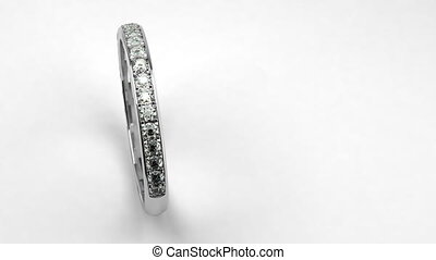 Diamond Wedding Ring (seamless)