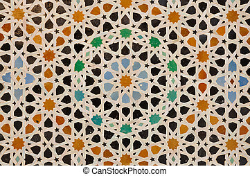 Oriental decoration in Morocco