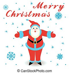 Marry Christmas with Santa Claus - Marry Christmas with...