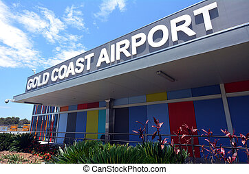 Gold Coast International Airpor - GOLD COAST, AUS - NOV 22...