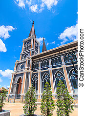 Roman Catholic Church, Chanthaburi Province, Thailand