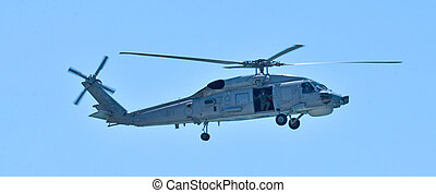 Search and rescue helicopter - GOLD COAST, AUS - NOV 10...
