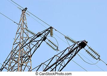 High voltage powerline
