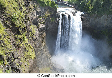 Snoqualmie Falls in Washington State.