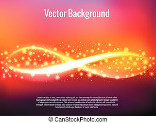 Blurred glowing abstract background