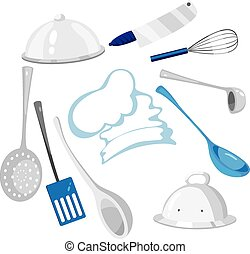 kitchenware - illustration of a kitchenware