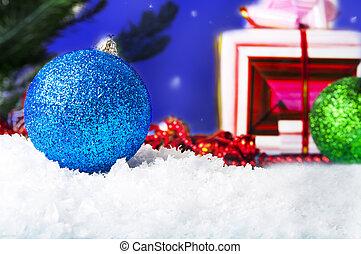 Christmas. Christmas Holiday. Decorations. - Christmas....