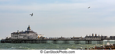 Dogfight over Eastbourne Pier