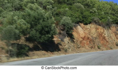 Travel the roads of Sithonia peninsula Northern Greece