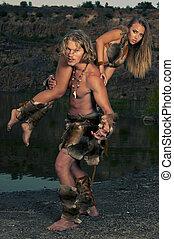 selvagem,  tribal, pessoas