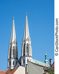 Church in Goerlitz - St. Peter and Paul church in Goerlitz...