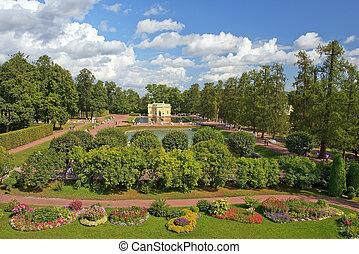 pavilion Upper Bath, Tsarskoye Selo, St. Petersburg -...