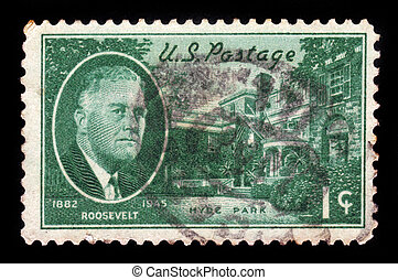 Roosevelt and Hyde Park Residence - United States - CIRCA...